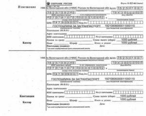 Загран паспорт госпошлина реквизиты иркутск