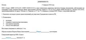 Передача полномочий генерального директора физическому лицу