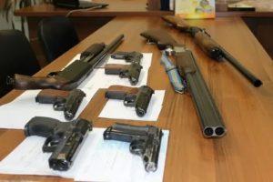 Какой срок за хранение оружия