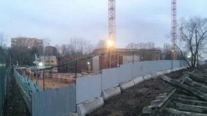 На каких площадках сао ведутся строительные работы по реновации