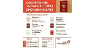 Мфц подольск перечень документов для загранпаспорта