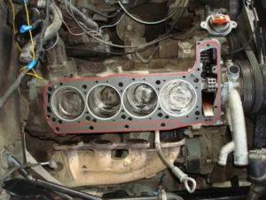 Нива замена колец без снятия двигателя