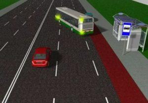 Преимущество маршрутных транспортных средств на остановках