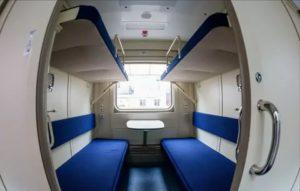 Двухэтажный поезд ржд фото внутри купе отзывы