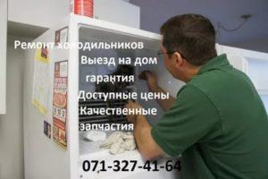 Сроки выполнения гарантийного ремонта холодильников