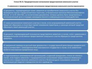 Постановление о предварительном согласовании земельного участка образец