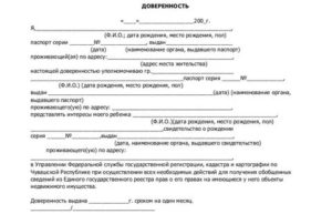 Бланк доверенность на сопровождение ребенка по россии без родителей бланк