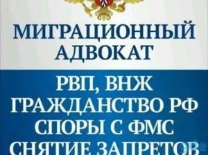 Консультация миграционного юриста в москве