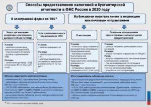 Предоставление отчетности новых организаций