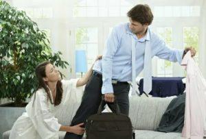 Выгнала мужа из дома как себя вести