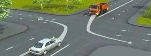 Если не пропустил машину по главной дороге