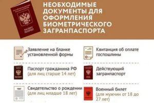 Какие документы нужны для загранпаспорта в нальчике