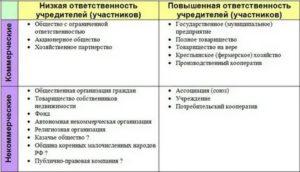 Ответственность учредителей общественной организации