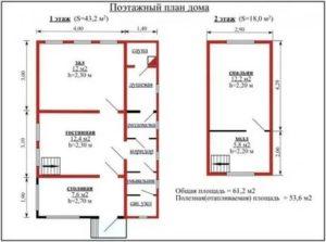 Составить технический план садового дома