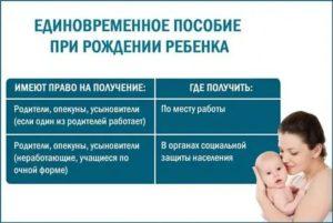 Льготы отцам при рождении ребенка