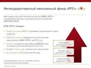 Пенсионный фонд ргс